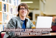 Foundation year programok 18 �ves kort�l